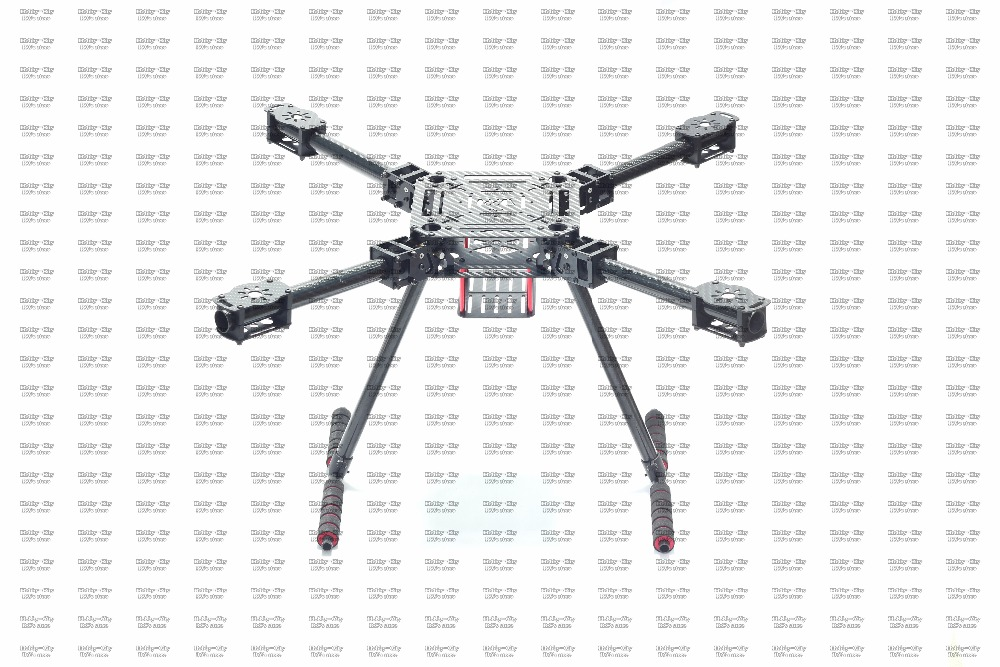free shipping ZD550 ZD 550 Carbon Fiber 4 axis Quadcopter Frame Kit with carbon fiber landing skid