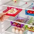 Throbbing Under Desk Sundry Plastic Storage Bag Box Refrigerator Drawer Flexible Organization Box Bin With Bottom Kit  Case