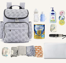 Promocja! Marka pieluszka dla niemowląt torby na pieluchy torba na pieluchy matka torba na ramię moda tanie tanio zipper (30 cm Max Długość 50 cm) 14cm Nylon 74uj 18cm Drukuj 35cm 0 8kg L X E M Plecak