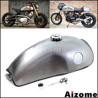 Cafe Racer Mojave Tank 2.6 Gal Fuel Tank For Honda Kawasaki Ducati Yamaha BMW CB XS SR XV RD50 350 400 R100 R 750 Moto Gas Tank