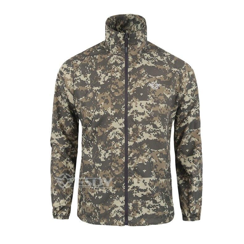 Outdoor Camouflage Skin Dünner UV-Schutzmantel Outdoor-Wanderjacke - Sportbekleidung und Accessoires - Foto 3