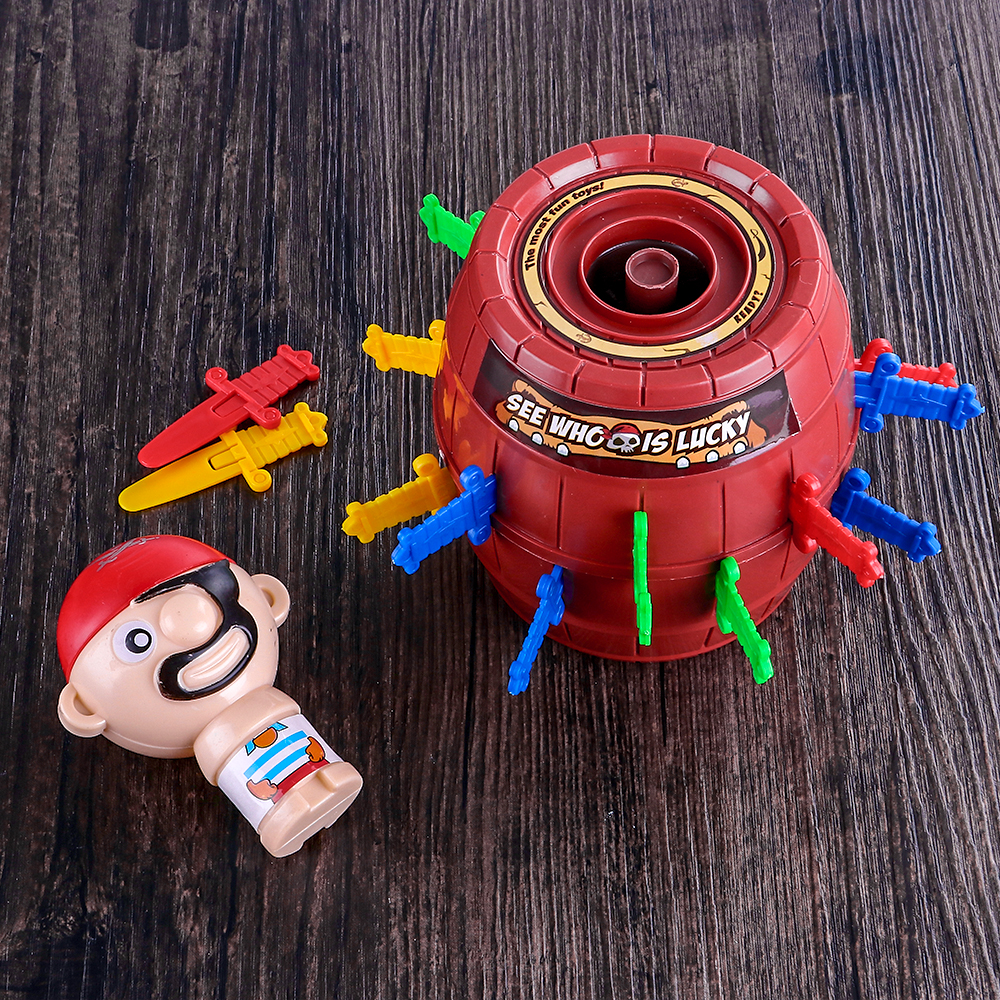 Creative Pirate Bucket Toy for Kids and Adult Funny ...