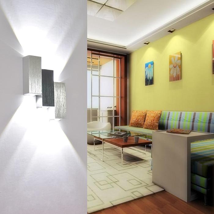 6W Sipërfaqja Sconce e montuar Llambë LED mur brenda shtëpie - Ndriçimit të brendshëm - Foto 4