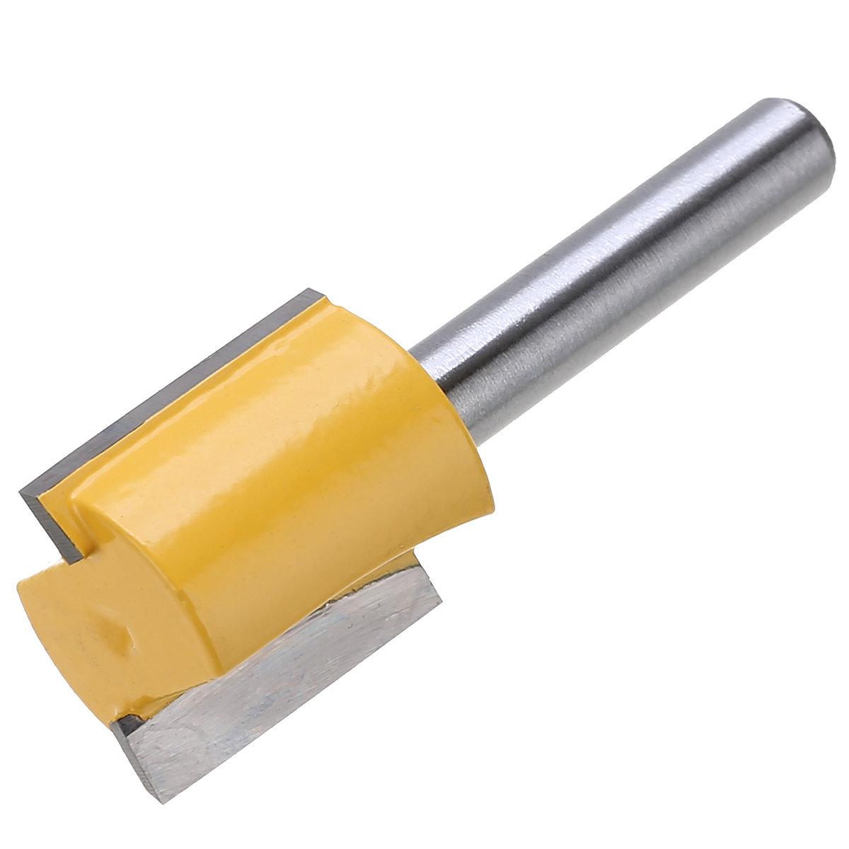 "5pcs/Set Hard Alloy Straight Trimmer Router Bits 1/4"" Shank Trimming Milling Cutter for Wood Woodworking Machine Tools"