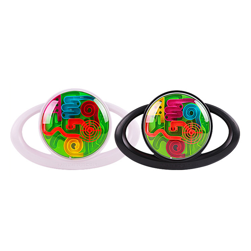 Puzzle 3d Magic Ball Maze Cube Toys Magic Intellect Maze Ball steering wheel Puzzle Games Children Educational Labyrinth Balls
