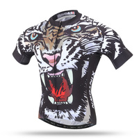 HOT 2016 TIGRE Hombres Ciclismo Jersey Ropa de Motocross de Bicicletas Ciclo Desgaste Bike Sportswear Ciclismo ropa de Hombre Verano