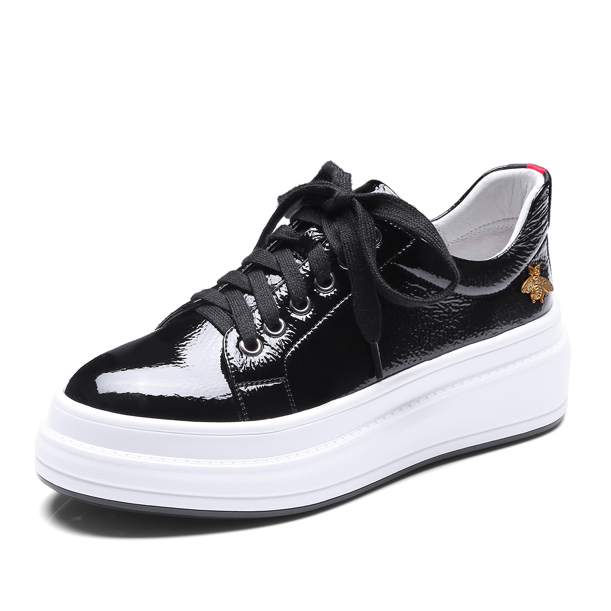 INDACO 2019 femmes baskets cuir blanc chaussures femme chaussures mode 34-40 - 4