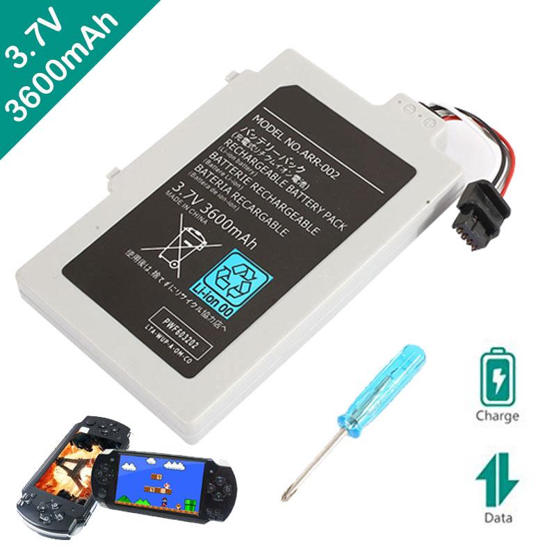 Batterien & Akkus Akku 3,7 V Wiederaufladbare Premium 3600mha Unterhaltungselektronik Schraubendreher Spiel Maschine Lithium-batterie Teile Grau Tropf-Trocken