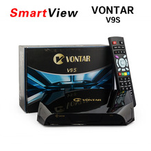 5pcsVONTAR V9S DVB-S2 HD Satellite Receiver Support WEB TV CCCAMD NEWCAMD IPTV BOX for IPHD Xtream Stalker IPTV youtube youporn(China)