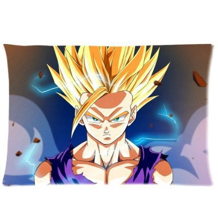 Dragon Ball Z Guhan Pillow Case 20x30 Inch Comfortable For Lovers And Friends Gifts Pillow Cover|case 3d|ball clean|ball coupler - title=