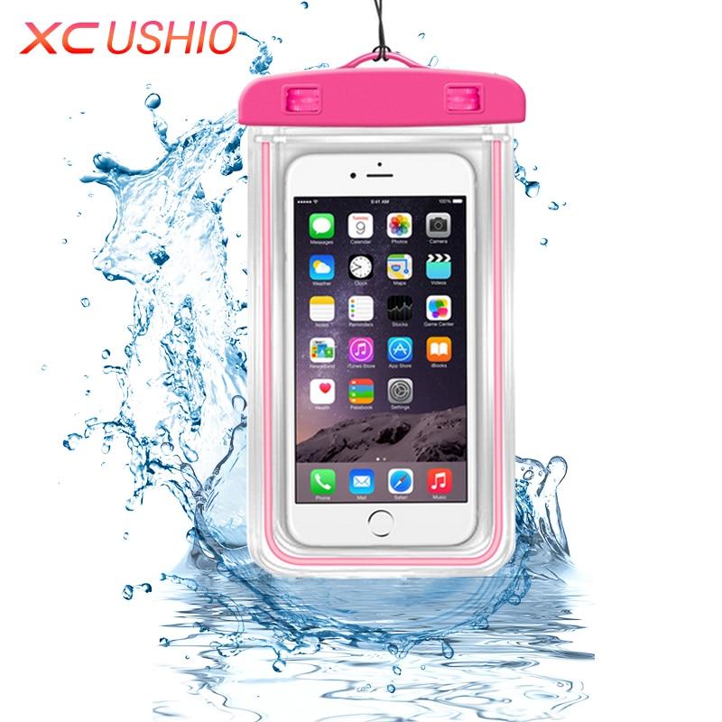 Univerzális vízálló telefon tok kültéri utazás vízálló - Szervezés és tárolás