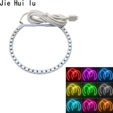 4pcs 131mm White LED CCFL Angel Eyes Halo Rings Lights Lamp For BMW E36 E39 E46 Heat and Water resistant