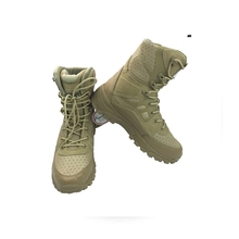 2016 New 11inch Tactical Military Boots Desert Tan Shoes Men Boots Winter Windproof Travelling Hiking Shoes