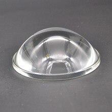 78 мм прозрачный СВЕТОДИОДНЫЙ из оптического стекла объектив Отражатель 5-90 градусов для высокой мощности Светодиодный светильник