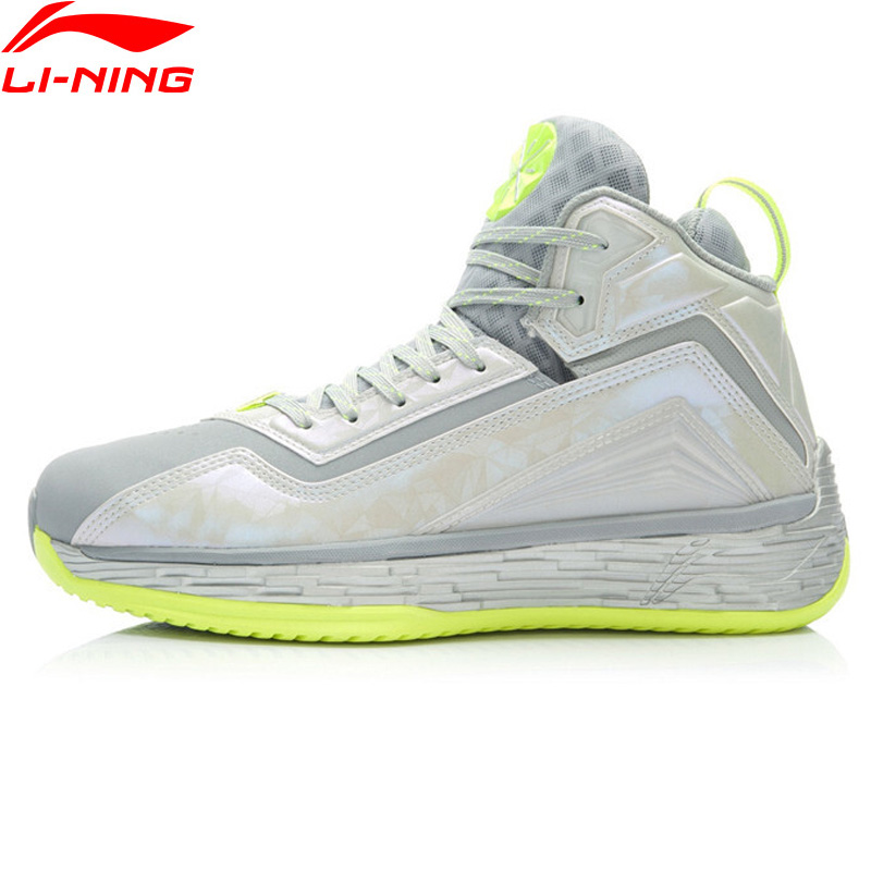 Li-Ning Men Wade Fission Basketball Shoes Bounse+ TUFF OS Wearable Sneakers Breathable LiNing Sport Shoes ABFK011 XYL049 li ning men s smart running shoes furious rider tuff os stability sneakers probarloc lining sports shoes arhl043 xyp424