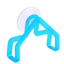 1 шт. стойка для хранения практичная не складывающаяся стойка для посуды держатель губки на присоске зажим для тряпки домашний стеллаж для хранения цвет случайный