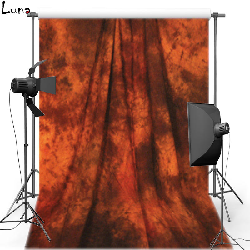 Pro Dyed Muslin Backdrops for photo studio Red old master painting Vintage photography background Customized 3X6m DM168