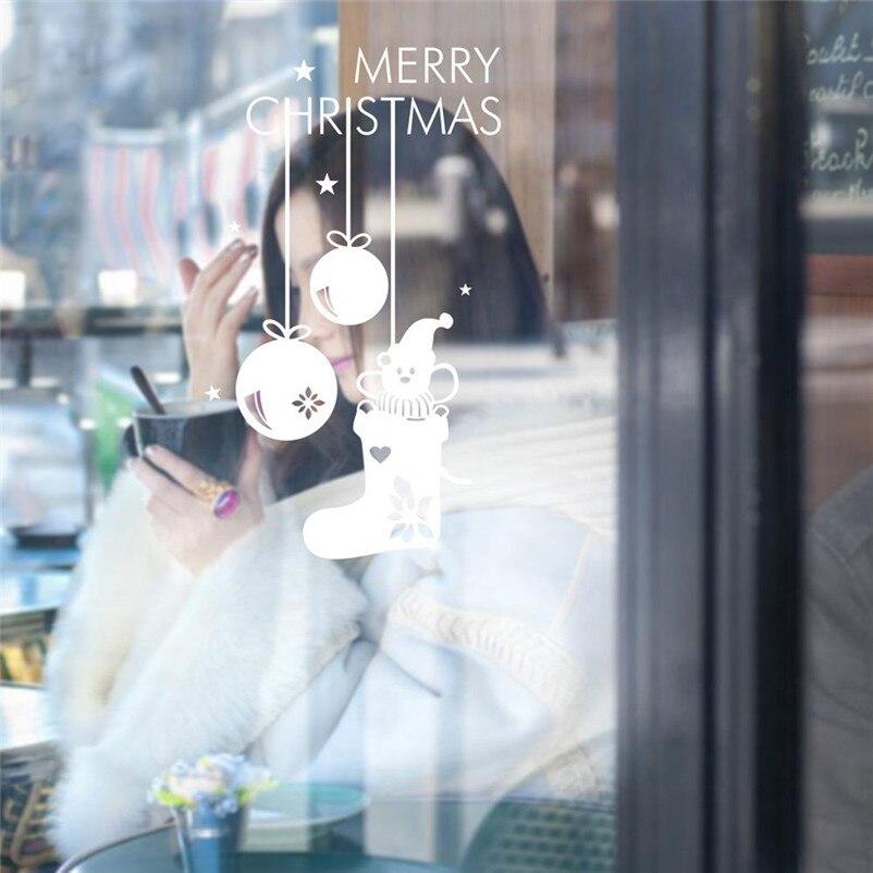 Dreamering Лидер продаж Merry Рождество Наклейки на стену винила Главная Декор стены наклейки Бесплатная доставка, 31 октября