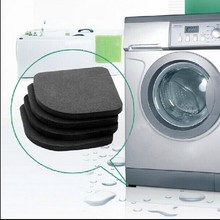 Refrigerator Bathroom-Mat Washing-Machine Anti-Vibration-Pad Non-Slip Kitchen Shock-Pads