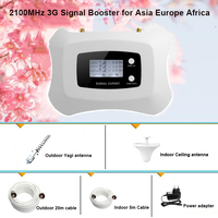 2016 New Smart 3g 4g Repeater Top Quality AWS1700mhz Mobile Signal Booster With LCD Display Home
