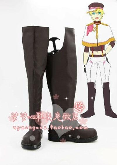 New Arrival Uta no Prince Sama 2 Shou Kurusu Cosplay Boots Shoes Designer