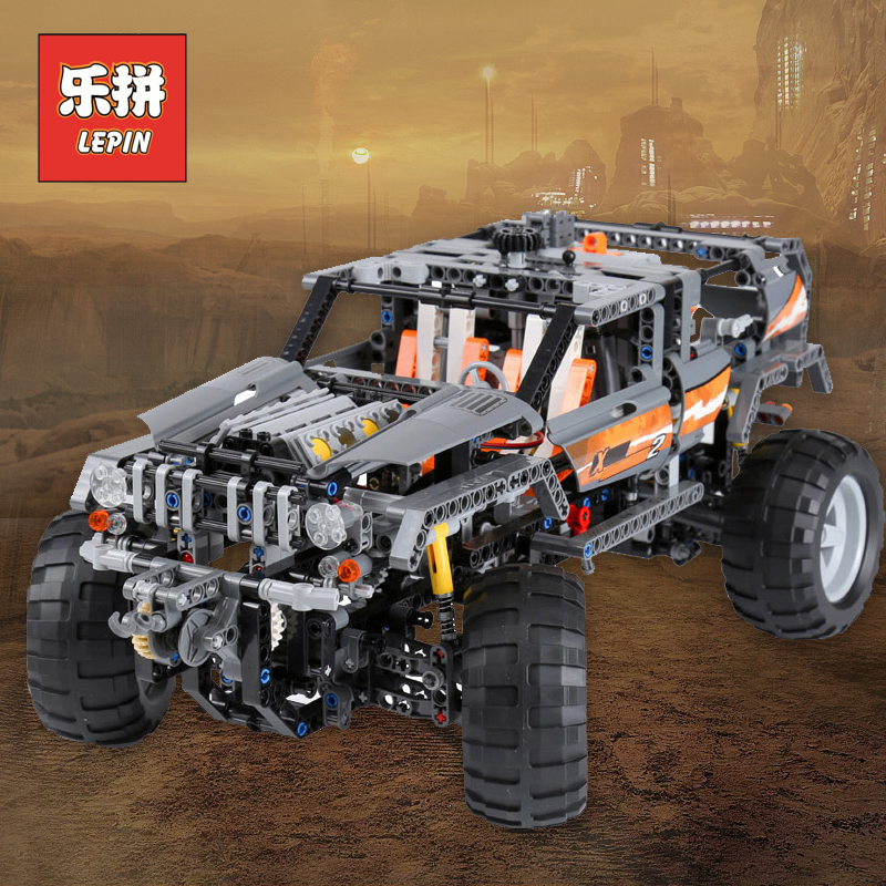 Lepin 20030 Technic 4x4 Motors Drive Car Remote Control Model RC Off-Road Vehicle Set Building Blocks Bricks kids Toy 8297 поплавок caperlan поплавок для матчевой ловли sensi 5 5 1 г