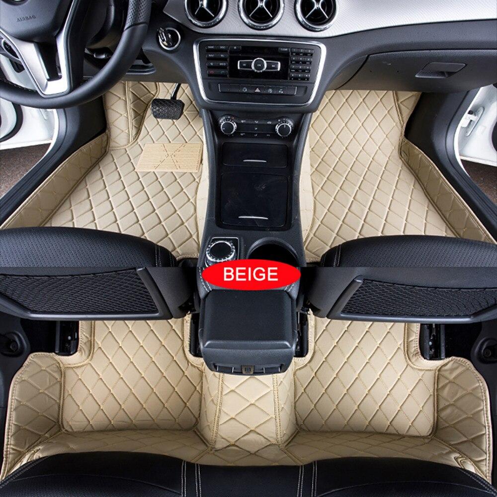 Tapis de sol de voiture pour AUDI A3 2010 ~ 2013/2014 ~ tapis 3D Auto personnalisés tapis de voiture tapis de revêtement de pied sur mesure