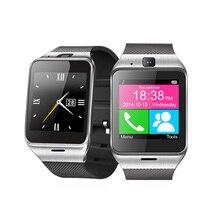 GV18 Reloj inteligente Android Bluetooth Deporte Cámara Podómetro Fitness Pulsera Smartwatch DZ09 GT08 PK Teléfono Móvil de Pantalla Táctil