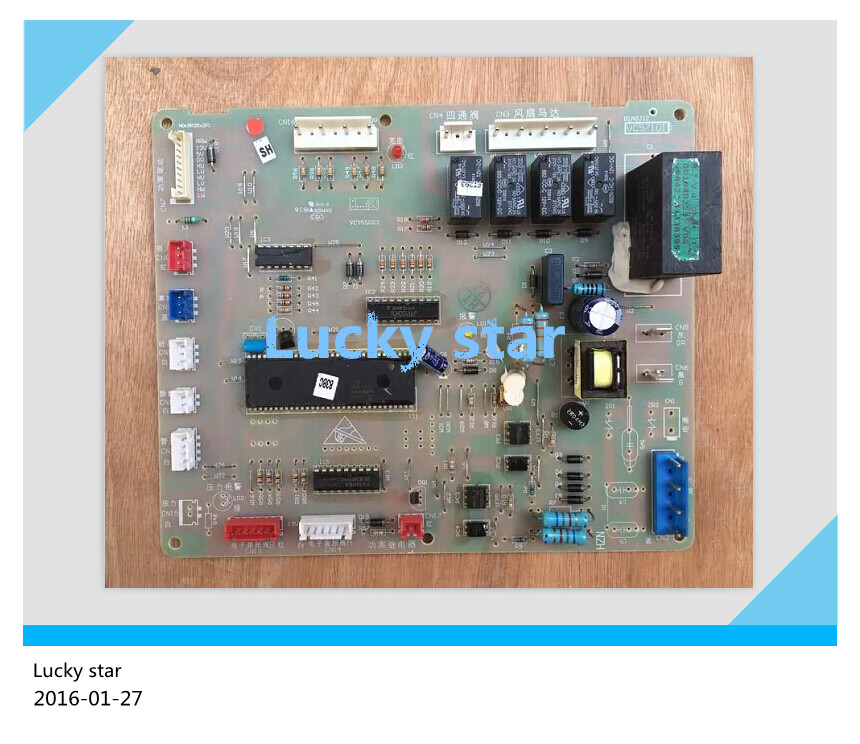 все цены на 95% new for Haier Air conditioning computer board circuit board 0010402536 good working