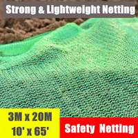 3x20m Green Garden Cover Plant Block Mulch Tree Mat Barrier Fine Mesh Bird Protective Netting Pest Control Net Building Supplies