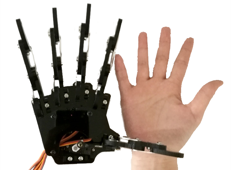 Integrated Circuits 1:1 7 Dof Smart Bionic Arm Manipulator Teaching Diy Kit 7 Axis Freedom Degree Fingers Hand Wrist Duino 51 Control