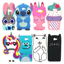3D Cartoon Phone Case For Samsung Galaxy A3 A5 2017 High Qua