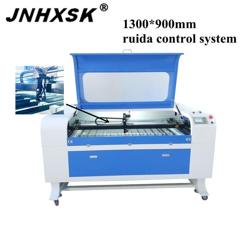 JNHXSK 130 w CNC CO2 laser graveur TS1390 avec système ruida scellé CO2 laser tube longue durée de vie laser gravure et découpeuse