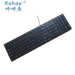Russian 104 key professional Russian keyboard office keyboard black work keyboard dwarf Chocolate keycap mute keyboard business