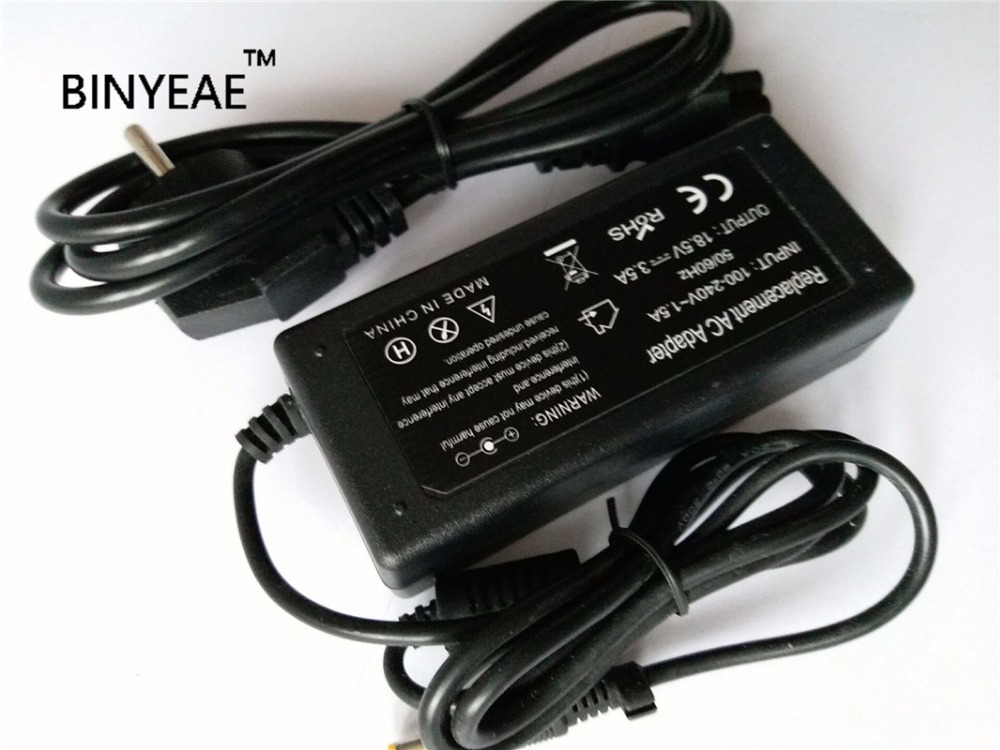 18.5V 3.5A 65w Universal AC Adapter Battery Charger  for HP COMPAQ 610 615 Laptop Free Shipping with Power Cord