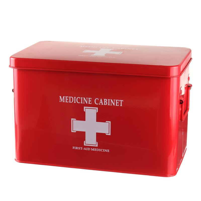 FGHGF Metal Medicine Cabinet Multi-layered Family Box First Aid Storage Box Storage Medical Gathering Emergency Kits presidential nominee will address a gathering