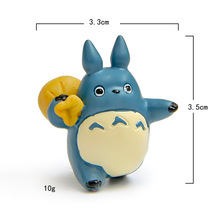 Cute Studio Ghibli Toy My Neighbor Totoro Action Figure Hayao Miyazaki xiaomei Anime Figures Figurines Kids Toys 59w