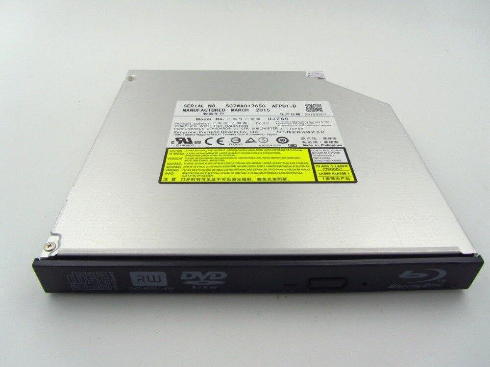 Nouveau lecteur DVD Blu-RAY 12.7mm Sata lecteur d'ordinateur portable pour Panasonic UJ-260 UJ260 6x