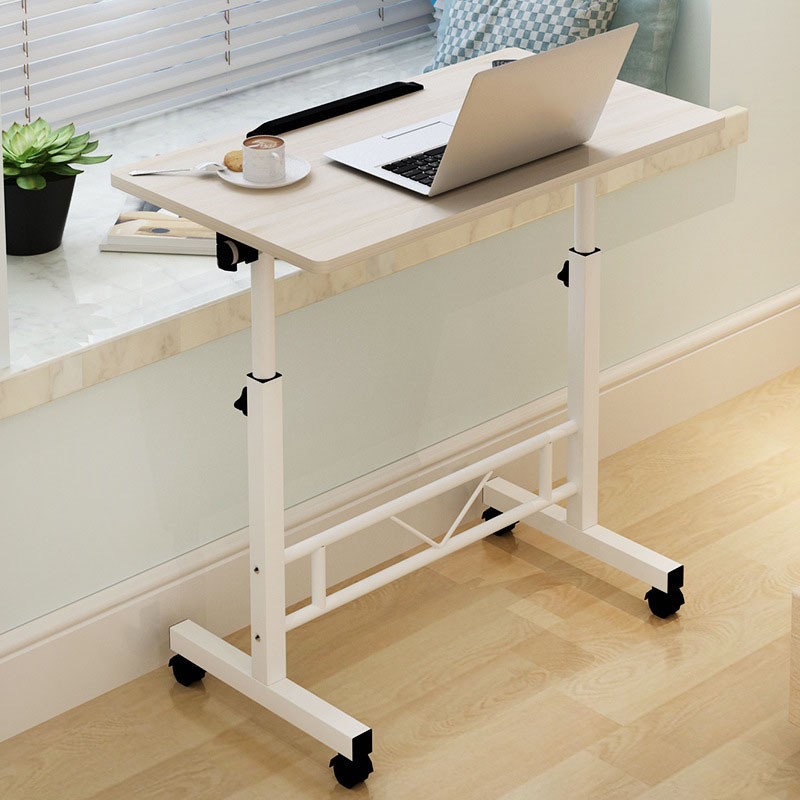 Adjustable Computer Desk Home Laptop Table Simple Modern Mobile Computer  Table With Lifting Bedside Laptop Tables
