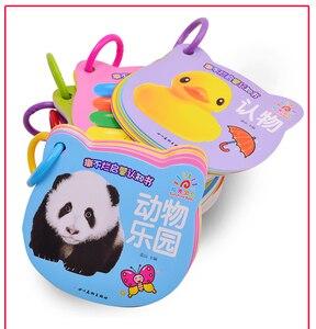 Image 5 - 8 ชิ้น/เซ็ตใหม่ Early การศึกษาเด็กก่อนวัยเรียนการเรียนรู้ตัวอักษรจีนการ์ดรูปภาพ/สัตว์/ผลไม้/เด็กเพลง