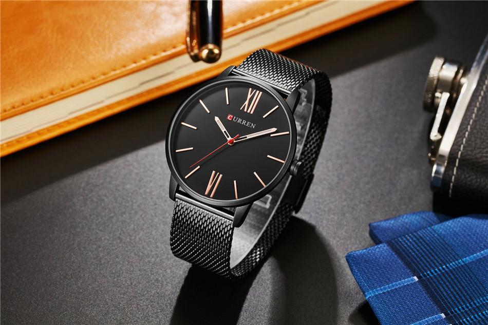 HTB1u3.ZRXXXXXbWXFXXq6xXFXXX8 - CURREN Luxury Stainless Steel Business Watch for Men