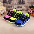 Chicos zapatos para caminar correr deporte De invierno del otoño niños Sneakers niñas Chaussure De pie la PU niños zapatos De goma antideslizante en línea