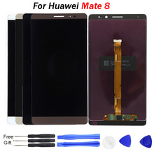 Replacement Repair Mobile Parts For HUAWEI Mate 8 LCD Display For Huawei Mate 8 MT8 LCD Screen Display Touch Digitizer Assembly srjtek 8 inch for samsung galaxy note 8 0 n5110 lcd display screen touch digitizer sensor tablet pc assembly replacement parts