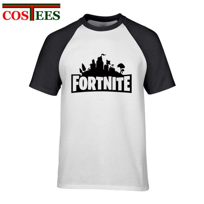 Fortnite T-shirt Summer Fashion Plus Size Male Fortnite tshirt Camisetas short sleeve printed Tees casual mens crew neck t shirt
