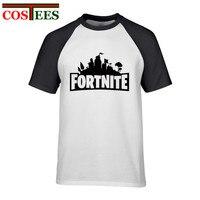 Fortnite T Shirt Summer Fashion Plus Size Male Fortnite Tshirt Camisetas Short Sleeve Printed Tees Casual