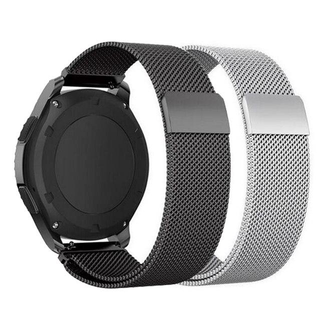 22mm 20mm 18 עבור Samsung ציוד ספורט S2 S3 Frontier קלאסי להקת huami amazfit ביפ רצועת huawei GT 2 galaxy watch פעיל 42 46mm