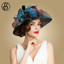 2015 new Women British Style organza hat \ Sun hat\ leisure outdoor wedding