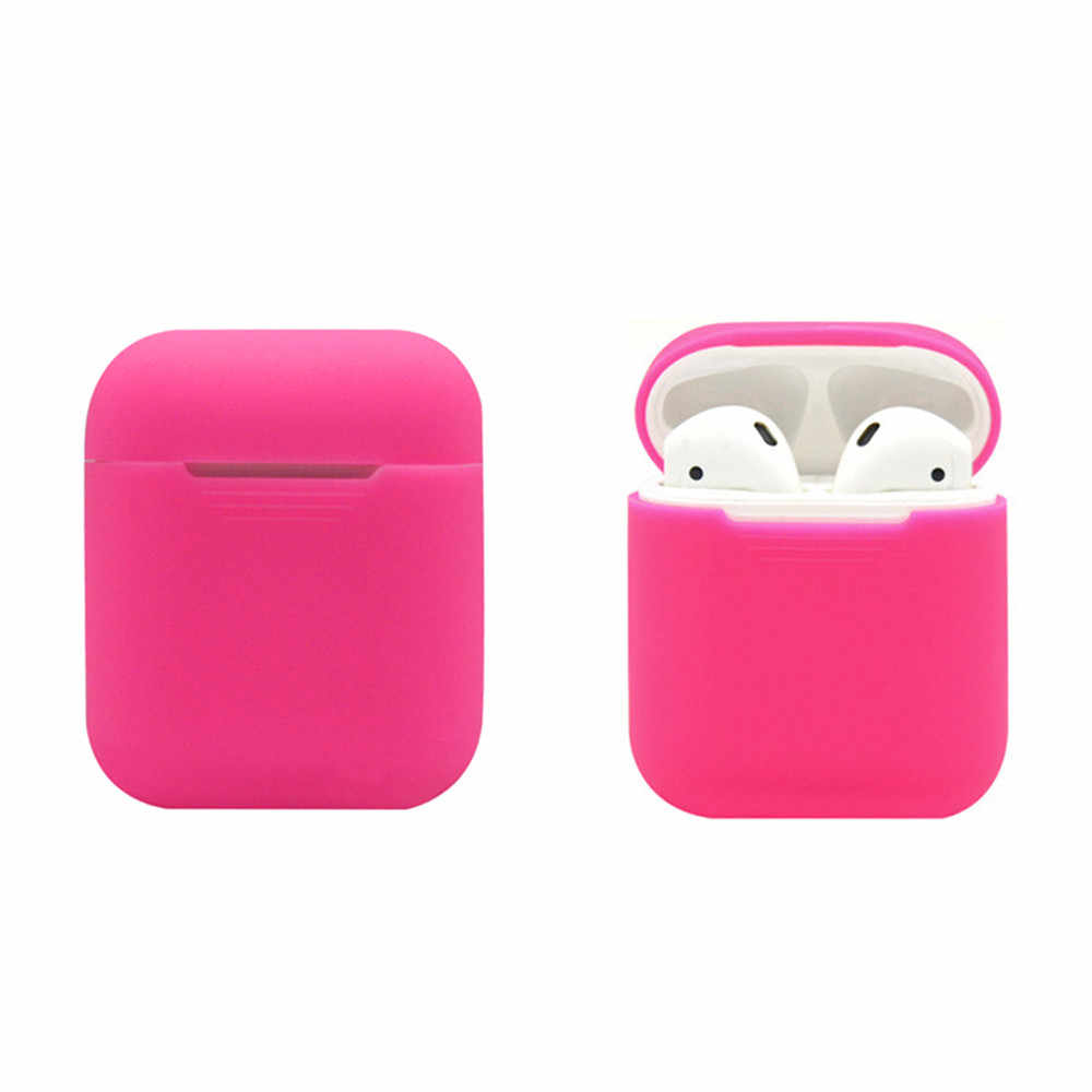 605b8cc9032 ... Earphone Case For AirPods Protect Box For Apple EarPods Silicone Cases  Cover Protective Skin for Apple ...