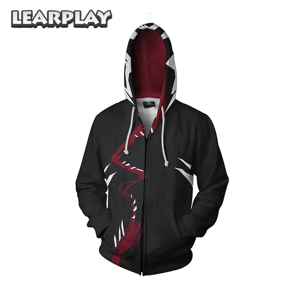 The Amazing Spider Man Hoodies 3D Printed Men Adults Sweatshirts Superhero Zipper Hooded Jackets Coat Hip Hop Streetwear
