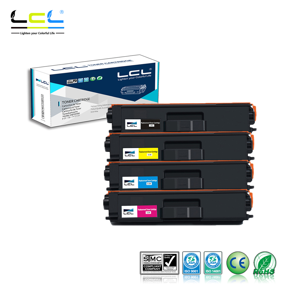 LCL TN331 TN336 TN326 TN321 TN-391 TN-396 (4-Pack) Toner Cartridge Compatible for Brother L8250CDN/L8350CDW/L8400CDN beibehang wallpaper modern simple bedroom living room tv background papel de parede large flower non woven wall paper